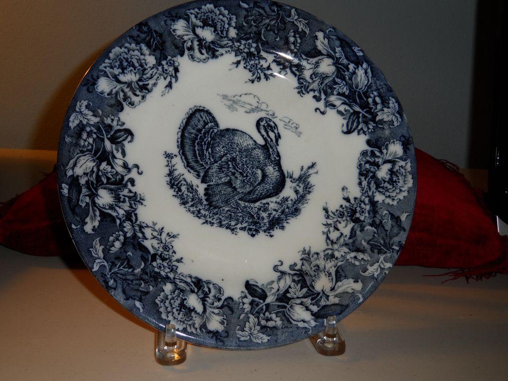"Turkey plate by Wedgwood  10"""