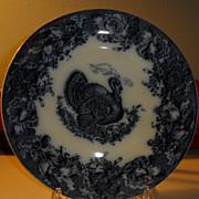 "SALE Turkey plate by Wedgwood  10"""