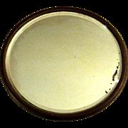 SALE Antique Beveled Plateau Mirror, Circa 1900