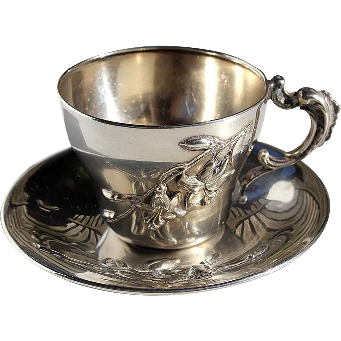 how to clean silver cups