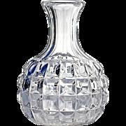 SALE 19th Century Mold-Blown Glass Wine Bottle Decanter
