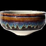 SALE Vintage Signed Art Pottery Bowl