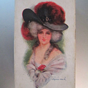 Valentine Candy Box Edwardian Candy Box Marie Antoinette  J Knowles Hare