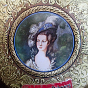 Huntley Palmers Biscuit Tin Marie Antoinette With Original Foil