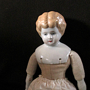 Lovely Low Brow China Shoulder Plate Doll