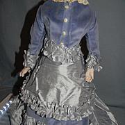Aqua Blue Doll Shoes