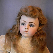 """Pretty Vintage Wig, 8"""" C."""