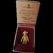 Steiff Commemorative Pewter Bear