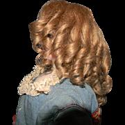 French Fashion Doll's Wig