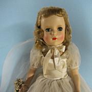 """Madame Alexander 18"""" Margaret Bride Walker"""