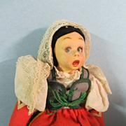 "9"" Lenci Mascotte Doll"