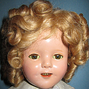 """SALE PENDING Ideal 16"""" Composition Shirley Temple Doll"""