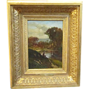 A 19th Century Landscape Painting by Frederick D. Williams