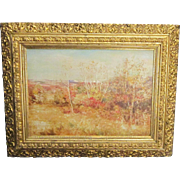A 20th Century American Impressionist Cragsmoor, New York Landscape by Carroll B. Brown (1860