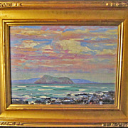 American Impressionist Painting by Harry Leslie Hoffman