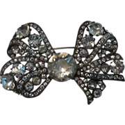 Eisenberg Original Bow Brooch Sterling