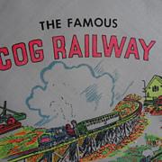 Cog Railway, Mt. Washington, NH Hankie