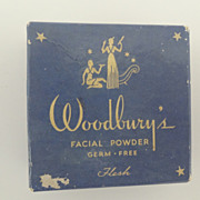 Vintage Woodbury Box Facial Powder Sealed Unused