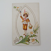 Vintage 1914 Easter Postcard