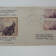 Mother's Day First Day Cover Issue May 2,1934