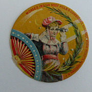Trade Card Morses Indian Root Root Pills Victorian Graphics