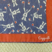 Nautical Ceggali Vintage Scarf