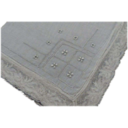 Hankie Handkerchief Lace Emboidered Bridal