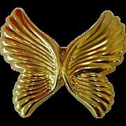 SALE Free Shipping! Lovely Vintage Art Nouveau Style Butterfly Brooch,