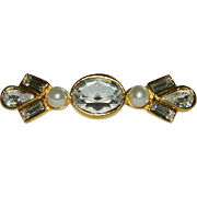 SALE Bling Bar Brooch