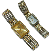 SALE His & Hers Swiss Hills Bracelet Watches