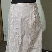 Circa 1900 cotton drill underskirt. In super condition.