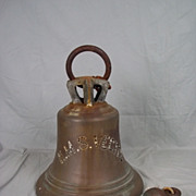 The Royal Navy Ships Bronze Bell From HMS Vectis - 1917 V Class Destroyer