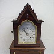 Regency Rosewood 8-day Fusee Clock By Barwise, London c.1815