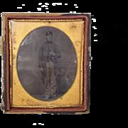 Rare Original Photograph Of An American Civil War Union Soldier