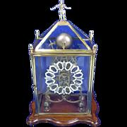 Circa 1850 Victorian Fusee Skeleton Clock British Colonial Hunting Club