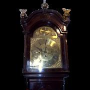 Magnificent English c1880 3 Train Westminster Chimes & Striking 8 Day Mahogany Longcase Clock