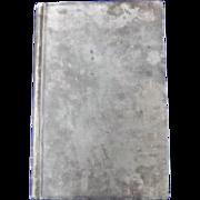 1860-64 Private Merchantman Ships Log Book By J.C. Henning On 3 Ships