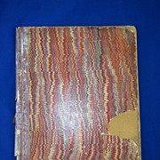 1881 Dated Mercantile Private Ships Log / Journal