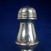 Sterling Silver Pepper Pot Hallmarked for Chester 1920 by Stokes & Ireland