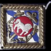 HMS Cochrane Submarine Depot Ship Bronze Ships Boat Badge