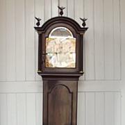 Circa 1780 Thomas Shipard Of Portsmouth 8 Day Rocking Ship Longcase Clock - Serviced