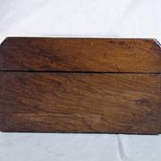 Parquetry Fruit Wood Box circa 1870