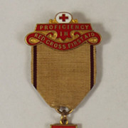 Red Cross Award For Proficiency In Red Cross Work With Bar