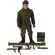 Action Man Green Beret With Bazooka