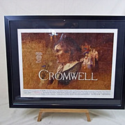 Original Artwork For The Cromwell Film Cinema Poster, Circa 1970, By Vic Fair