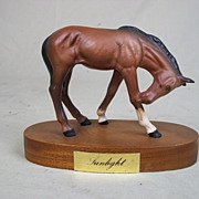 """A Beswick Model of """"Sunlight"""", A Spirited Foal by Graham Tongue (1987-1989)"""