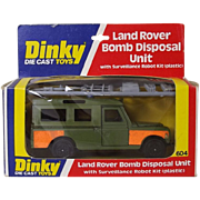 Dinky Toys No. 604 Bomb Disposal Land Rover (Boxed) #2