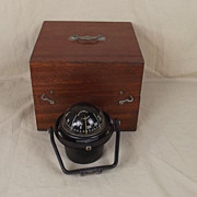Cased French Plastimo Offshore 85 LV Base Compass