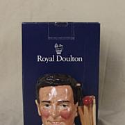 SOLD Royal Doulton D7076 Denis Compton Cricketers Series Character Jug