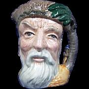 Royal Doulton Small Character Jug Of Robinson Crusoe by Max Henk
